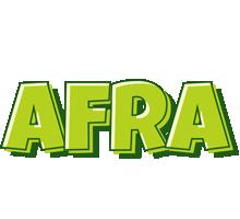 Afra summer logo