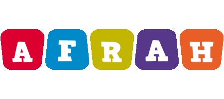 Afrah kiddo logo