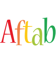 Aftab birthday logo