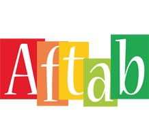 Aftab colors logo