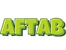 Aftab summer logo