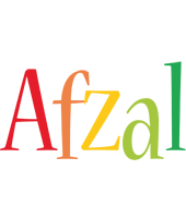 Afzal birthday logo