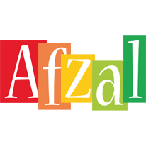Afzal colors logo