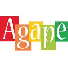 Agape colors logo