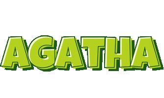 Agatha summer logo