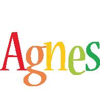 Agnes birthday logo