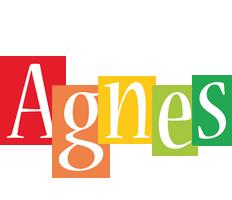 Agnes colors logo