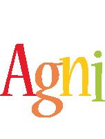 Agni birthday logo