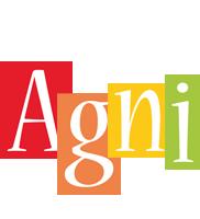 Agni colors logo