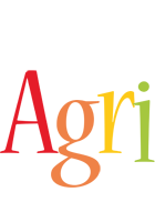 Agri birthday logo