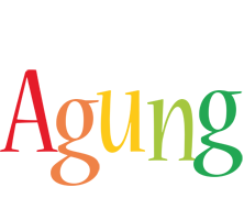 Agung birthday logo