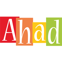 Ahad colors logo