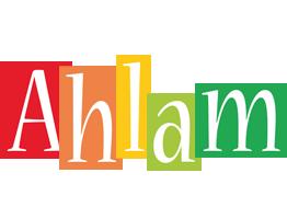 Ahlam colors logo