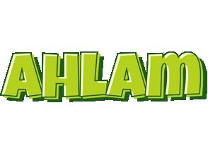 Ahlam summer logo