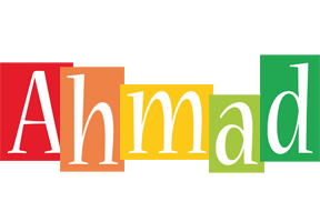 Ahmad colors logo