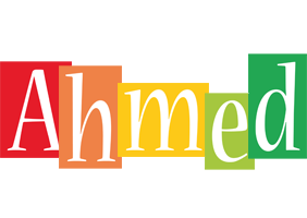Ahmed colors logo