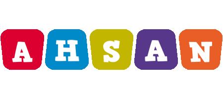 Ahsan kiddo logo