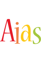 Aias birthday logo