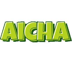 Aicha summer logo