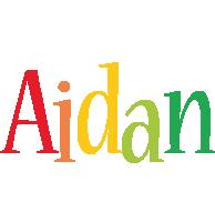 Aidan birthday logo
