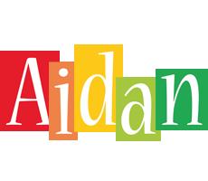 Aidan colors logo