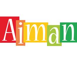 Aiman colors logo