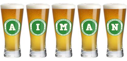 Aiman lager logo