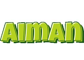 Aiman summer logo