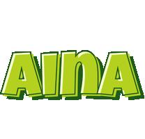 Aina summer logo