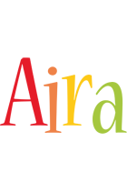 Aira birthday logo
