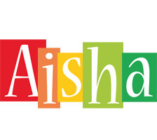 Aisha colors logo