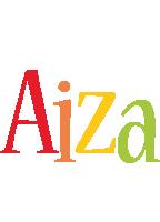Aiza birthday logo