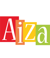 Aiza colors logo