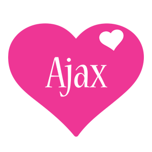 ajax logo name logo generator i love love heart