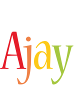 Ajay birthday logo