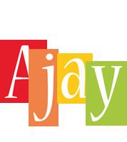 Ajay colors logo