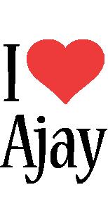 Ajay i-love logo