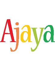 Ajaya birthday logo