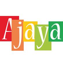 Ajaya colors logo