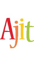 Ajit birthday logo