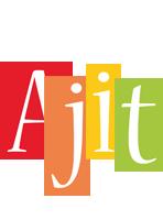 Ajit colors logo