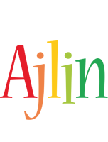 Ajlin birthday logo