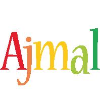 Ajmal birthday logo