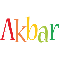 Akbar birthday logo