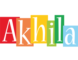 Akhila colors logo