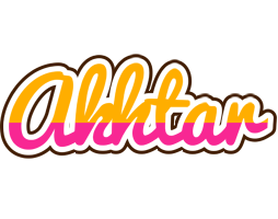 Akhtar smoothie logo