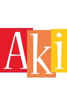 Aki colors logo