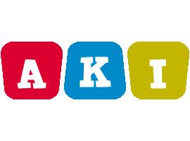 Aki kiddo logo