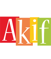 Akif colors logo