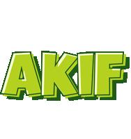 Akif summer logo